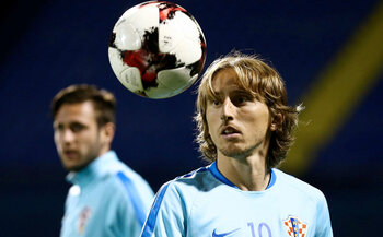 De sterren van de selectie: Luka Modric, een enorm palmares bij zijn clubs, niet met zijn land