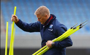De trainer: Heimir Hallgrimsson