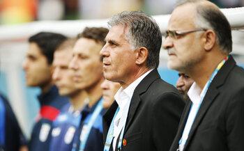 L'entraîneur : Carlos Queiroz