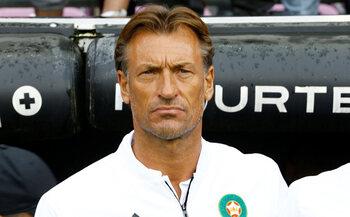 L'entraîneur : Hervé Renard