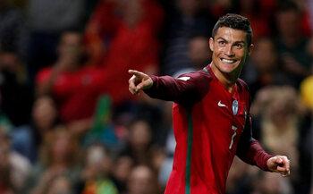 De sterren van de selectie: Cristiano Ronaldo, populair en niet bescheiden