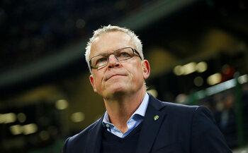 De trainer: Janne Andersson