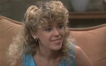 Haar debuut op de Australische televisie