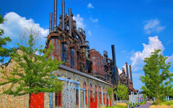 SteelStacks in Bethlehem, Pennsylvania (VS)