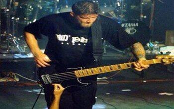 Christian Olde Wolbers - gitaar bij onder andere Fear Factory, Powerflo ...