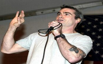 Henry Rollins - roadie bij The Teen Idles