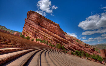 Red Rocks Amphitheatre, à Morrison, Colorado (États-Unis)