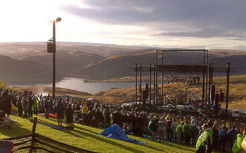 Gorge Amphitheater in George, Washington (VS)