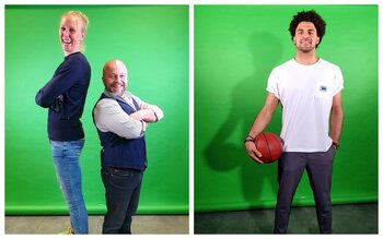 Vlaamse basketsterren