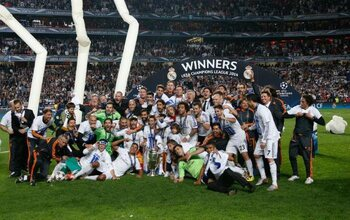 Drie op een rij voor Real Madrid