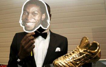 Dieumerci Mbokani (Soulier d'Or 2012)