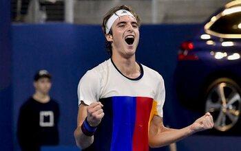 Stéfanos Tsitsipas (quinzième au classement ATP)