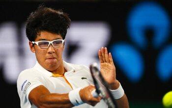 Hyeon Chung (vingt-cinquième au classement ATP)