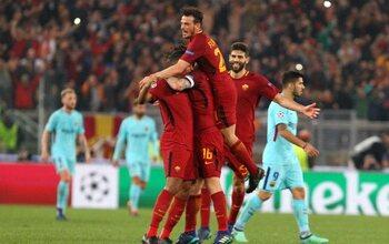AS Roma - Barcelona