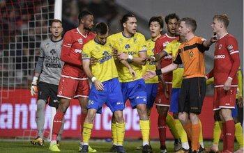 Le jeu trop rugueux de l'Antwerp et le football virevoltant de Saint-Trond
