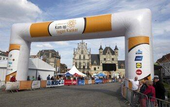 1000 kilometer voor Kom Op Tegen Kanker
