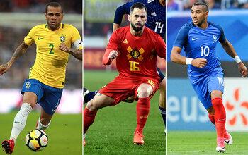 Blessés, ces joueurs louperont la Coupe du monde