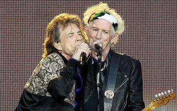 Zijn haat/liefde relatie met Keith Richards