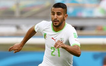 Ryad Mahrez (Manchester City, Algerije)