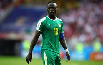 Sadio Mané (Liverpool, Sénégal)