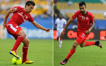 Youssef Msakni en Taha Yassine Khenissi