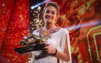 Également un Soulier d'Or pour la meilleure joueuse belge