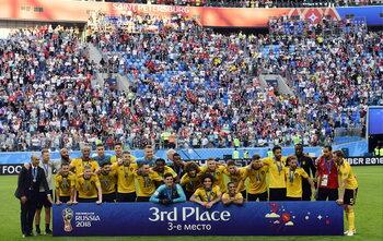 Gouden generatie Rode Duivels pakt brons op WK