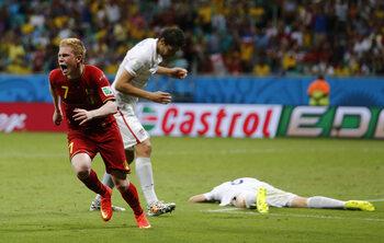 Heroïsch duel met België
