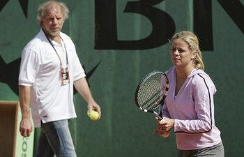Kim en Lei Clijsters
