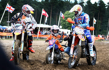 Harry, Stefan en Liam Everts