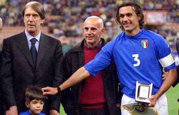 Cesare en Paolo Maldini