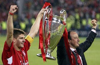 Liverpool-AC Milan 3-3, 3-2 na strafschoppen (2005)