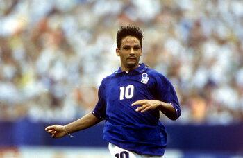 Les grands absents de l'Euro : au sommet de son art, Roberto Baggio loupe l'Euro 1992 avec l'Italie