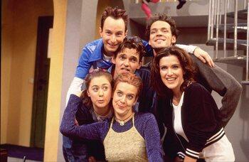 Elke cast van een Vlaamse jeugdserie uit begin jaren 2000