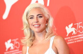 Lady Gaga op de New York Pride in 2013