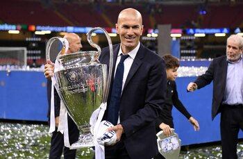 Zidane neemt de fakkel met succes over