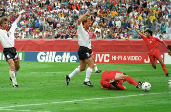 Völler en Klinsmann doen Belgen pijn