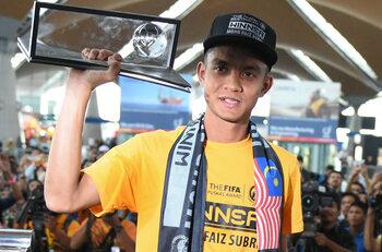 Mohd Faiz Subri vs. Pahang FA