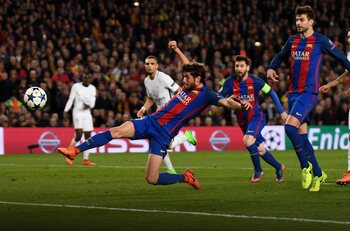One day, one goal: Sergi Roberto met à terre le PSG