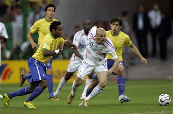 Les matchs de légende : Zidane offre un récital face au Brésil en 2006
