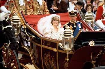 De relatie van Prinses Diana en prins Charles