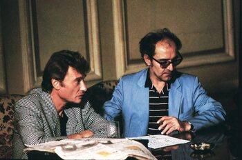 Vedette d'un film de Jean-Luc Godard