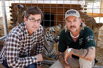 Vrijdag: Louis Theroux: Shooting Joe Exotic