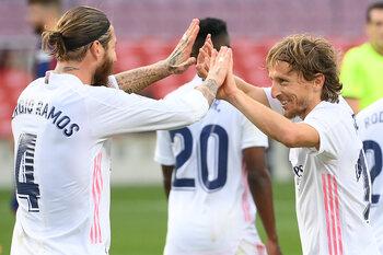 Sergio Ramos et Luka Modric