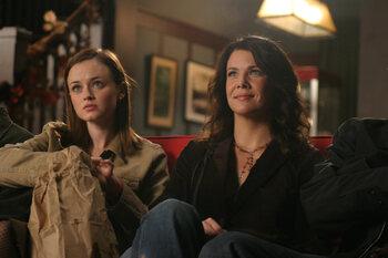 Rory & Lorelai in Gilmore Girls