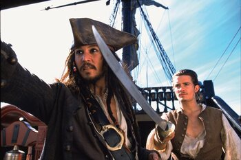 Zondag: Pirates of the Carribean: The Curse of the Black Pearl