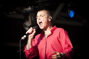 AB Canapé: singer-songwriter Sinéad O'Connor