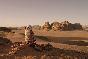 Dimanche: 'Seul sur Mars' à 21h05 sur TF1