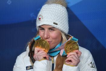L'incroyable double exploit d'Ester Ledecká aux Jeux d'hiver de Pyeongchang