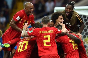 Belgique - Japon (3-2)